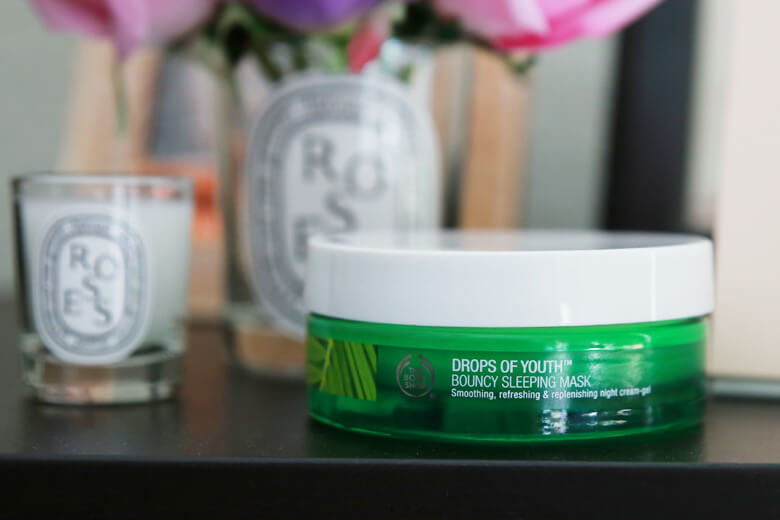 Mặt nạ ngủ Drops Of Youth Bouncy từ The Body Shop Vietnam