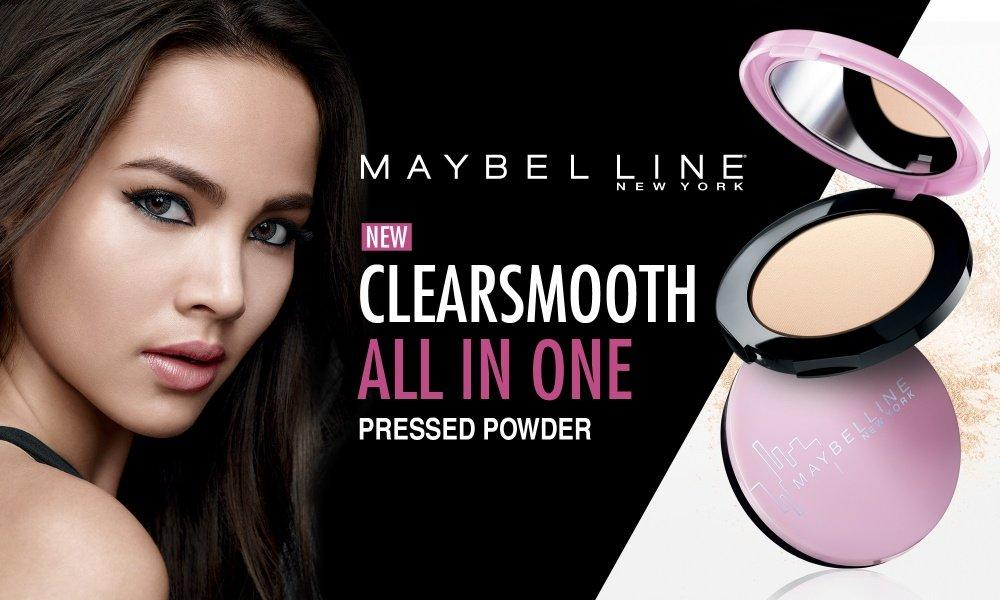 Phấn phủ Maybelline Clear Smooth  All In One Powder là gì